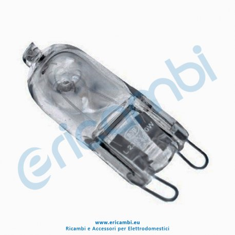 Lampada alogena 40w 230v attacco g9 for Lampada alogena
