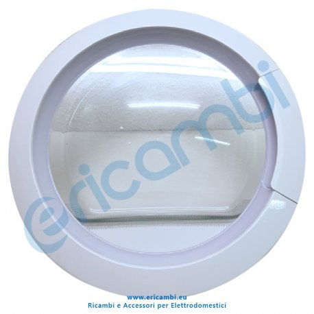 Controporta disco vetro
